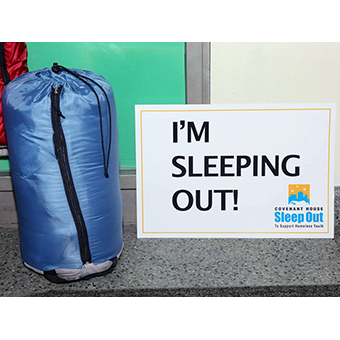 Real Estate Executives Sleep Out for Covenant House Camden, 9/29/16
