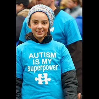 Autism Speaks Walk on October 2, 2016 in Princeton, New Jersey